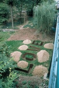 Love Grave-3, 2003, Installation from the exhibition Forefront, Indianapolis Museum of Art
