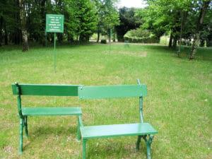 Le Rivau Love park Ghada amer